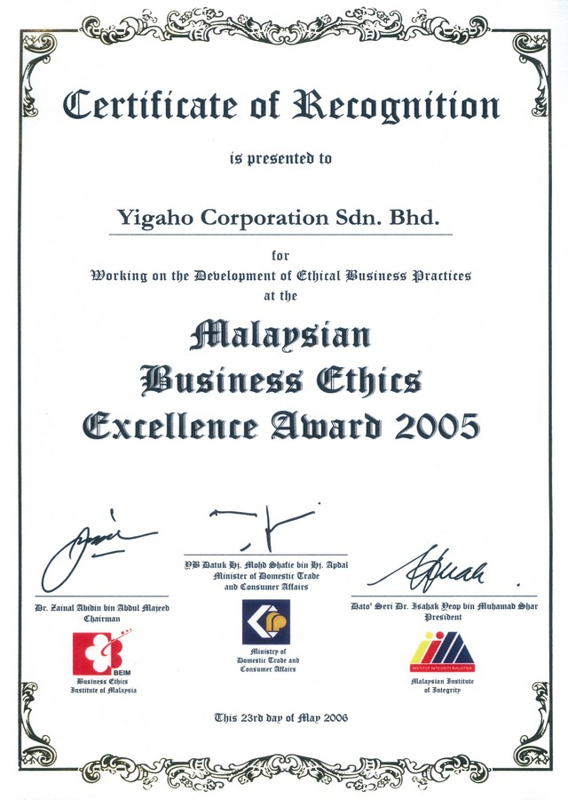 Malaysian Business Ethics